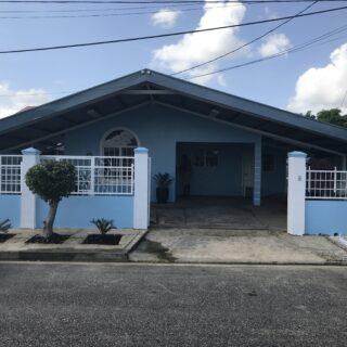 Aston Drive, Balmoral Park Chaguanas : House For Rent TTD8000.00
