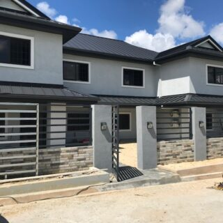 For Rent – St Joseph Park, St Joseph Village – $7,500TT- Modern Townhouse Two Bedrooms Two and Half Baths