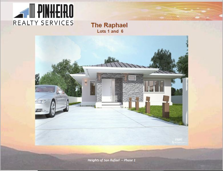Heights of San Raphael – beautiful 3 bedroom houses in a gated development – Phase 1 Pre Sale