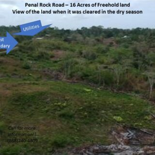 Investment Opportunity: 16 Acres of Penal Rock Road Freehold Land for sale