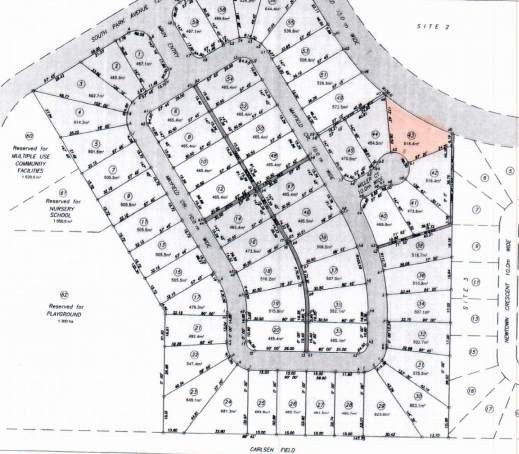 Residential lot Chaguanas