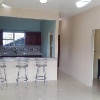 For Rent – Ragoobar Lands, Gasparillo – $4,800TT – 3 Bedroom apartment