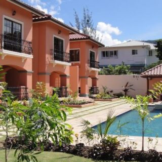 For Rent – Cascada Villas, Cascade – Beautifully finished fully furnished 3 bedroom townhouse