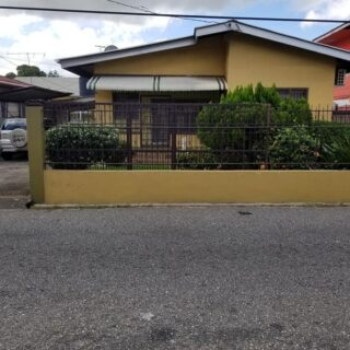 For Rent: Curepe 2 Bedroom House