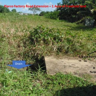 Investment Opportunity (Condo/Townhouse/Warehouse/Offices): Piarco 1 Acre of Freehold Residential Land!!!