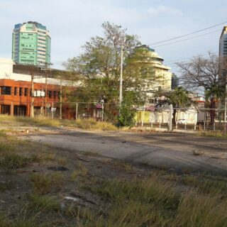 COMMERCIAL LAND FOR SALE – STONE/SCOTT BUSHE STREETS PORT OF SPAIN