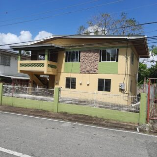 FOR SALE: PLAISANCE POINT A PIERRE 2 STOREY HOUSE