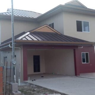 FOR SALE: WOODFORD GARDENS CHAGUANAS TWO STOREY HOUSE – Modern Design