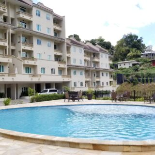 FOR SALE – La Rive Grande, Maraval 3 bedroom apartment – Comfortable living in new gated complex overlooking pool and play park
