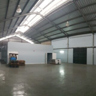 Champs Fleur warehouse space for rent.