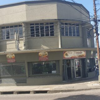 Upstairs Commercial Space For Rent – Opposite Port of Spain General Hospital