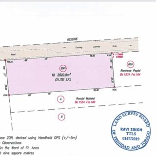 ARANGUEZ SOUTH PRIME FREEHOLD COMMERCIAL LAND FOR SALE!!