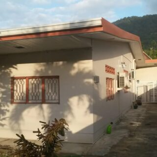 FOR RENT FURNISHED 2 BEDROOM ANNEX APARTMENT IN CRYSTAL STREAM @TT$5,000.00