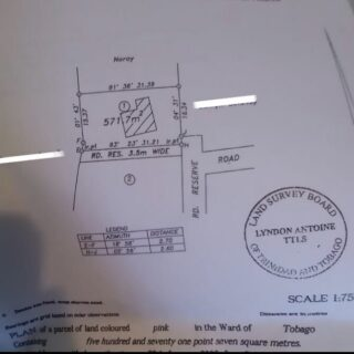 Signal Hill Tobago, Land For Sale