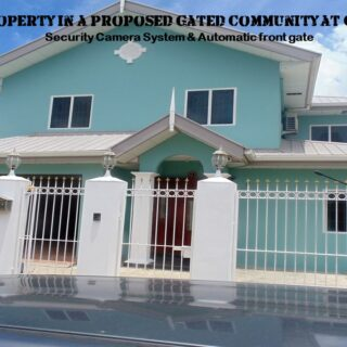 Furnished 2-storey house at proposed Gated Community in Charlieville: 4-5 bedrooms, 3 baths with Jaccuzi