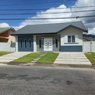 For Sale – Sunrise Park, Trincity – Three Bedroom House