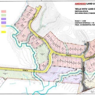 FOR SALE – Bella Vista, La Resource, D'Abadie – fabulous new development, some parcels with fantastic views
