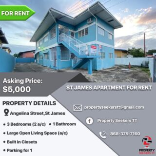 St. James Apartment for Rent
