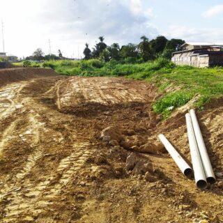 Aranguez 3 Lots of land FOR SALE!!! Near the Aranguez Savannah, ideal for small gated Townhouse development.