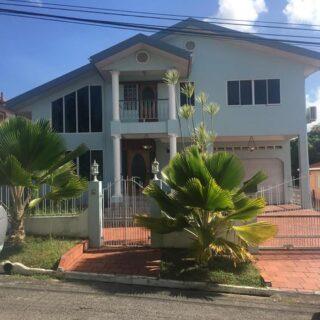 For Rent: Palmiste 4 Bedroom Semi Furnished House