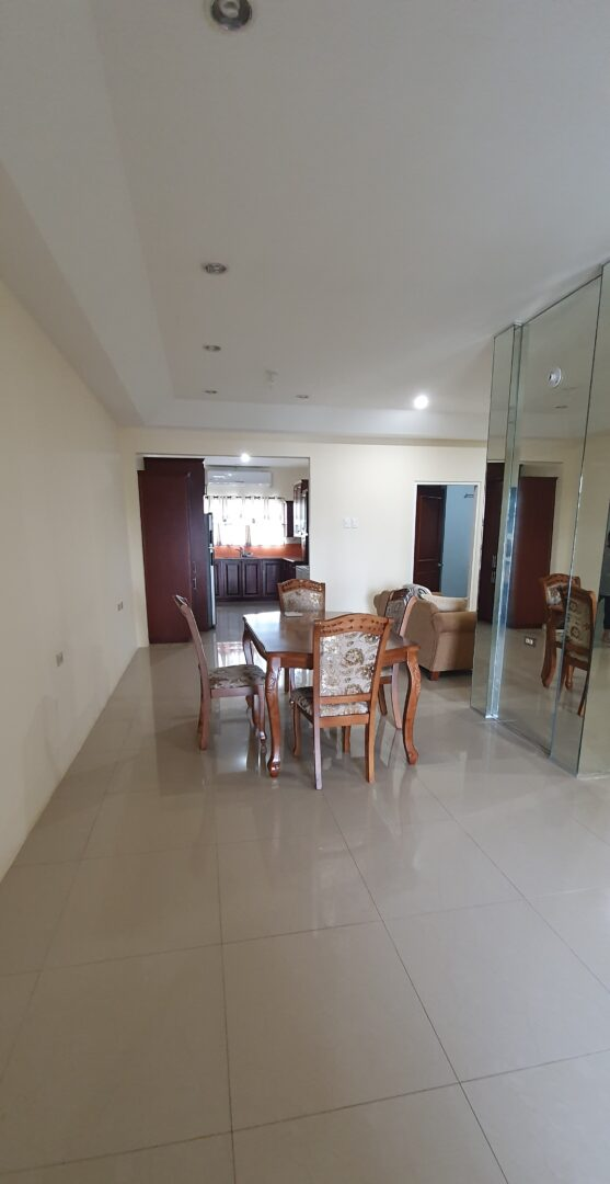 Spacious, fully furnished apartment for rent