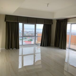 FOR RENT – Tower 1, One Woodbrook Place, Woodbrook – Semi furnished 3 bedroom apartment in gated complex