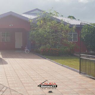 Chaguanas, Faaizah Gardens – House for Rent