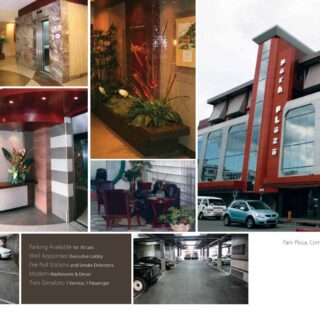 Commercial Space for Rent at Park Plaza POS