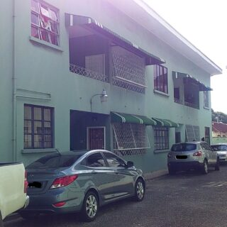 FOR RENT: Two Bedroom, Ground Floor Apartment – Queens Park West, Port of Spain