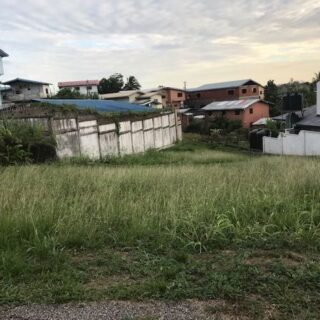 FOR SALE – Third Street, St Joseph Village, San Fernando – Parcel of freehold land in desirable neighbourhood