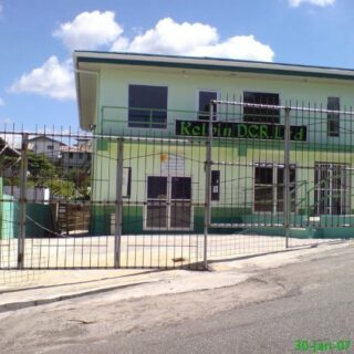 FOR RENT – Prince Albert Street, San Fernando – Ground floor office space with parking