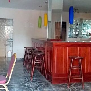 FOR RENT – Lewis Street, San Fernando – Ground floor space that is fully designed as kitchen and bar