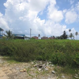 FOR SALE – Calypso Road, Manzanilla – Residential land close to the beach