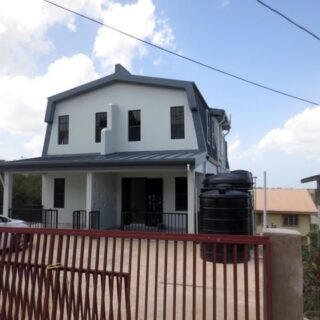 FOR RENT – Reserve Road, Off Baptist Street, Couva – Townhouse conveniently located close to Pt. Lisas