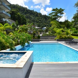 FOR RENT – Brendan's Place, Saddle Road, Maraval – 2 bedroom ensuite apartment with appliances