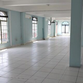 FOR RENT – Prince Street, Arima – Open plan space in prime location