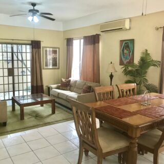 FULLY FURNISHED 3 BEDROOM, 2 AND 1/2 BATHROOM TOWNHOUSE FOR RENT
