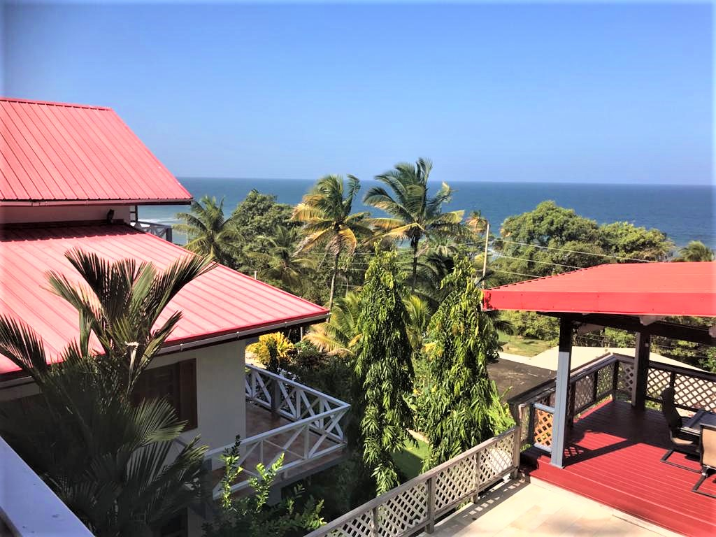 PARIA MAIN ROAD, BLANCHISSEUSE – House for Sale with pool and sea view – $5.5 Million