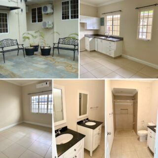2 BEDROOM, 2 BATHROOM, UNFURNISHED APARTMENT FOR  RENT -EARLY PETIT VALLEY