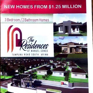 Pre-Sales,The Residences Manuel Congo Tumpuna South-$1.25M, $1.5M