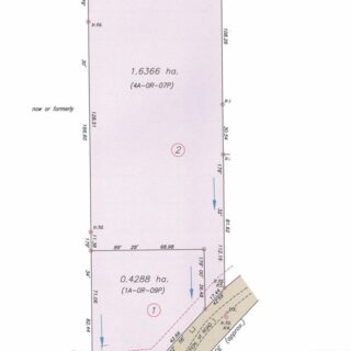 FOR SALE – Paria Main Road, La Fillette – Freehold land close to La Fillette beach