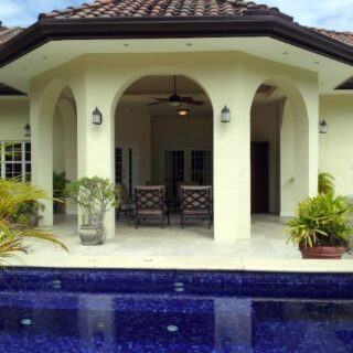 FOR RENT –The Hamlet, Moka, Maraval – On the golf course with its own pool