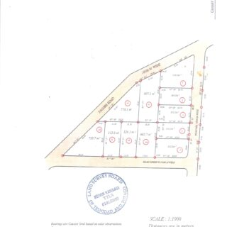 FOR SALE – Tagore Gardens, St Juliens Road, Princes Town – Freehold land
