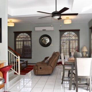 FOR RENT – Stratford Court, Westmoorings By The Sea – Fully furnished 3 bedroom, 2 bathroom townhouse