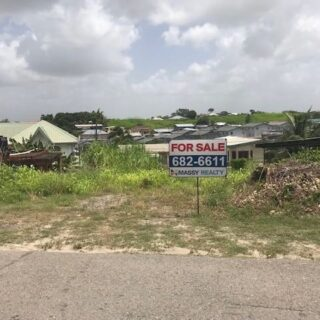 FOR SALE –Dumfries Road, La Romaine – Residential land on main road