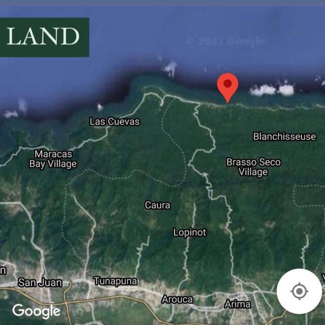 LAND for SALE 📍Blanchisseuse📍Paria Main Road