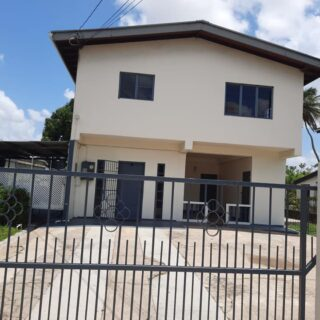 For Rent : Orchard Gardens Chaguanas 3 Bedroom Stand alone upstairs house