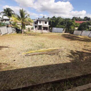 Land For Sale:   Location: Off Devon St. La Romain San Fernando