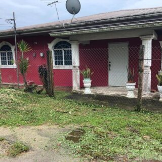 House For Sale:  Location: Maraj Lane, Lawrence Wong Rd. Longdenville
