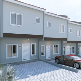 Cinnamon Court- Contemporary 2 Bedroom Smart Home in Champs Fleurs (Townhouse)